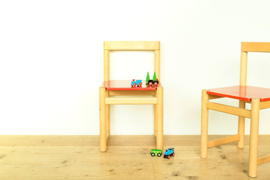北欧家具 フィンランド製 子供用チェア
