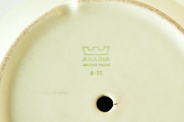 北欧雑貨 Arabia アラビア フラワーポット Richard Lind