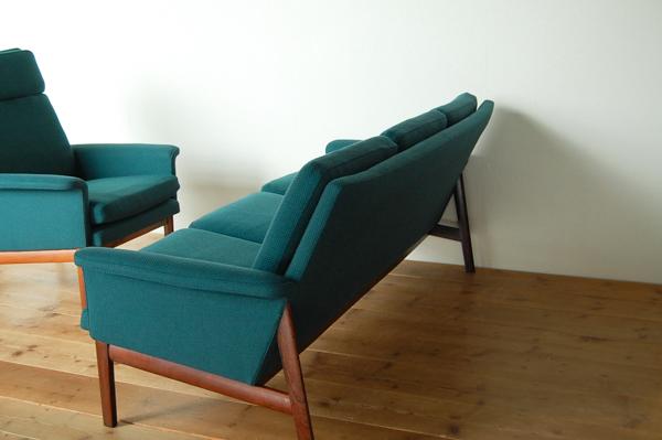 北欧家具 デンマーク フィンユール 3シーターソファ