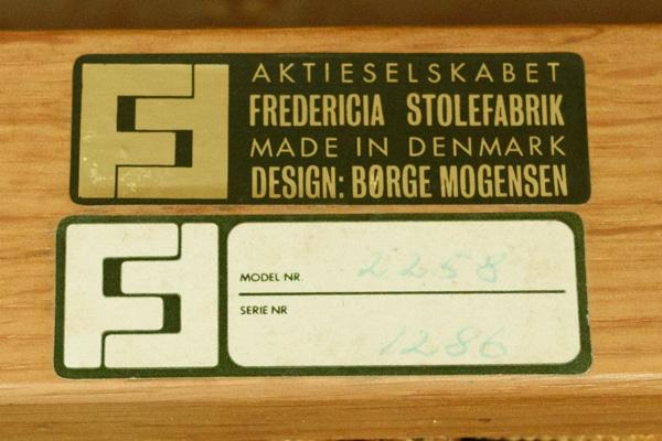 北欧家具 デンマーク ボーエ・モーエンセン スポークバック 2シーターソファ