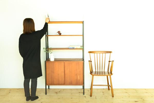 北欧家具 デンマーク ハイキャビネット