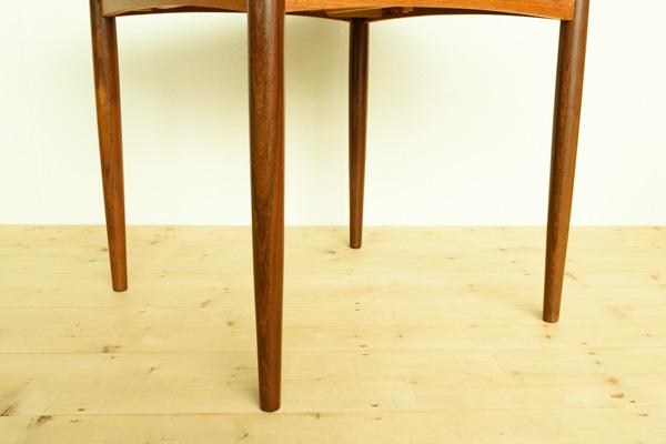 北欧家具 デンマーク ダイニングテーブル エクステンション