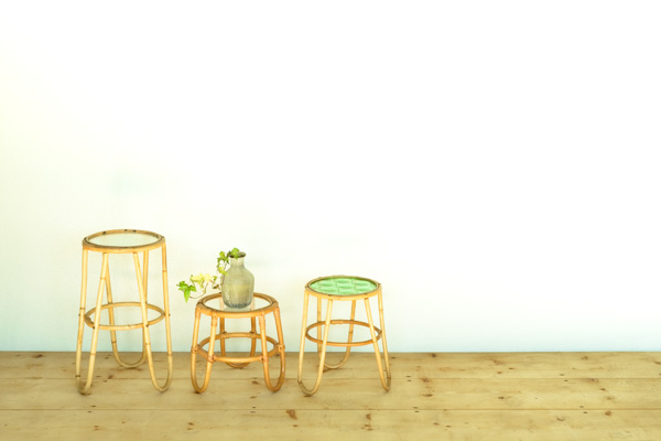 北欧家具 デンマーク サイドテーブル プランタースタンド
