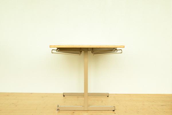 北欧家具 デンマーク製 ダイニングテーブル スクールチェア