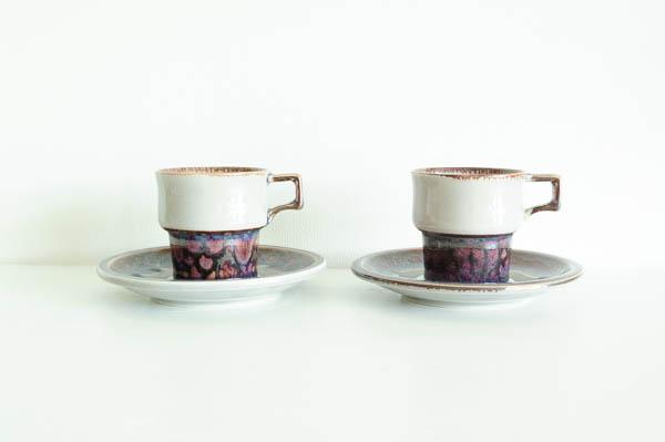 北欧雑貨 B&G デンマーク イェンス・H・クイストゴー Mexico カップ&ソーサー