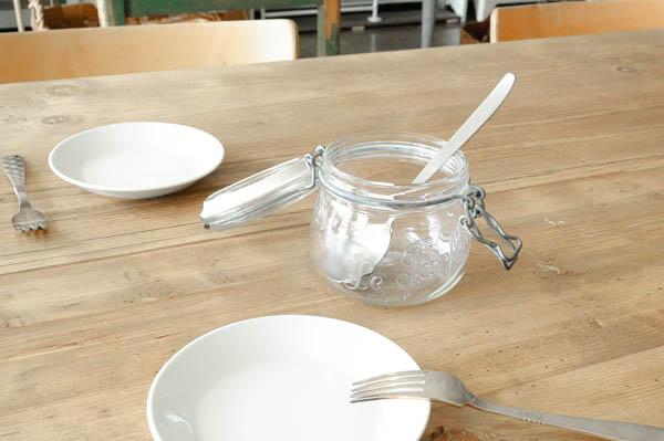 北欧雑貨 フィンランド ビンテージ ガラスキャニスター France