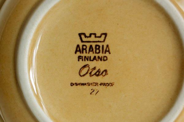 北欧雑貨 フィンランド アラビア ボウル
