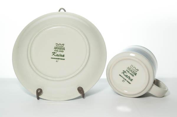 北欧雑貨 フィンランド ARABIA アラビア カップ&ソーサー