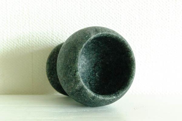 北欧雑貨 フィンランド ビンテージ Hukka Design soap stone egg cup