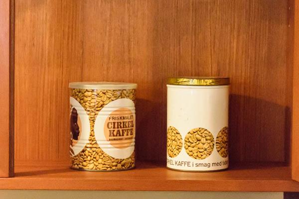 北欧雑貨 デンマーク vintage cirkel kaffe can
