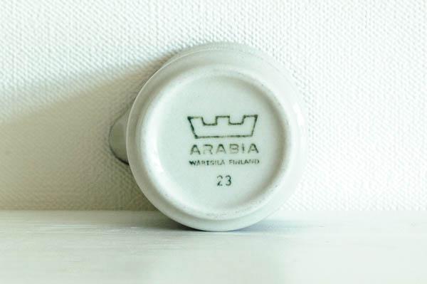 北欧雑貨 フィンランド ARABIA アラビア クリーマー