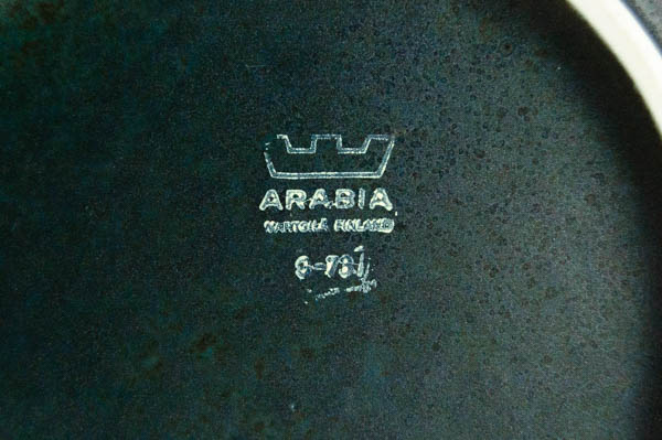北欧雑貨 フィンランド ARABIA アラビア  Korpi Goran Back ティーポット