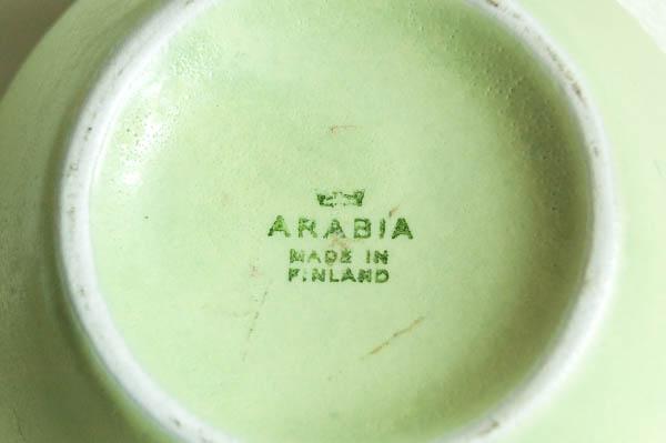 北欧雑貨 フィンランド ARABIA アラビア フラワーベース