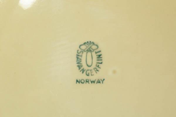 北欧雑貨 ノルウェー Stavangerflint Brunette プレート