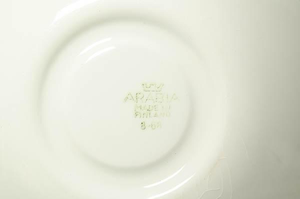 北欧雑貨 Finland ARABIA カップ&ソーサー