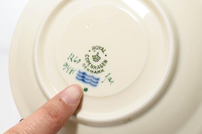北欧食器 デンマーク ロイヤルコペンハーゲン Thorkild Olsson カップ&ソーサー
