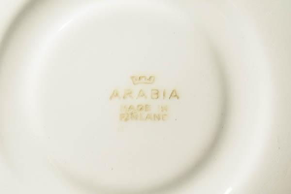 北欧雑貨 Finland ARABIA カップ&ソーサーkaj franck