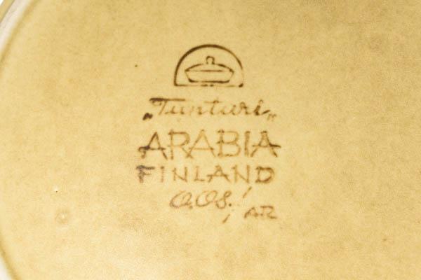 北欧食器 フィンランド ARABIA アラビア Ulla Procope tunturi ティーポット