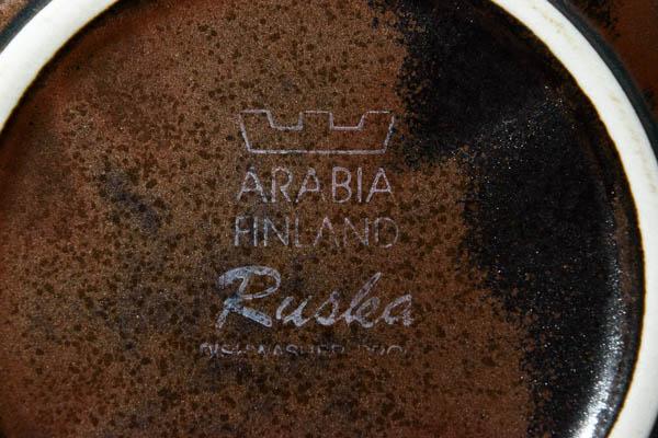 北欧食器 フィンランド アラビア Ulla Procope Rusuka ボウル