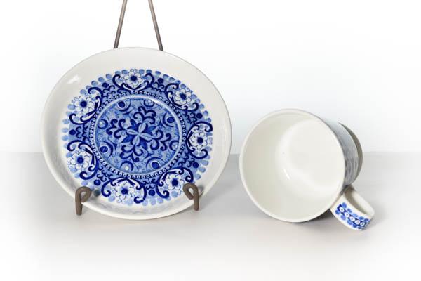北欧雑貨 フィンランド ARABIA デミタス カップ&ソーサー