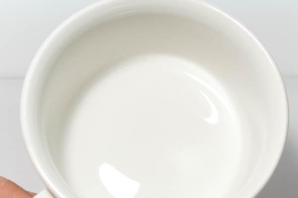 北欧食器 Finland ARABIA White Valencia Ulla Procope デミタス カップ&ソーサー