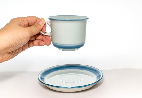 北欧食器 デンマーク Desiree Mistelten カップ&ソーサー
