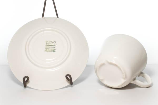 北欧食器 Finland ARABIA カップ&ソーサー