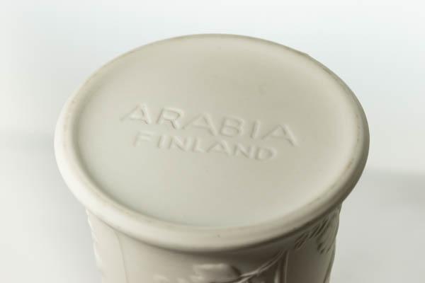 北欧雑貨 フィンランド ARABIA アラビア Suvi Gunvor Olin-Gronqvist フラワーベース
