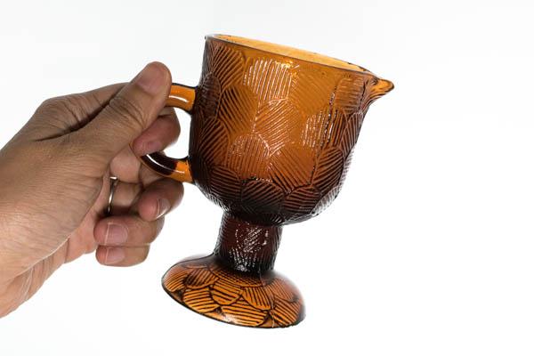 北欧雑貨 ヌータヤルヴィ heikki orvola miranda ガラス クリーマー
