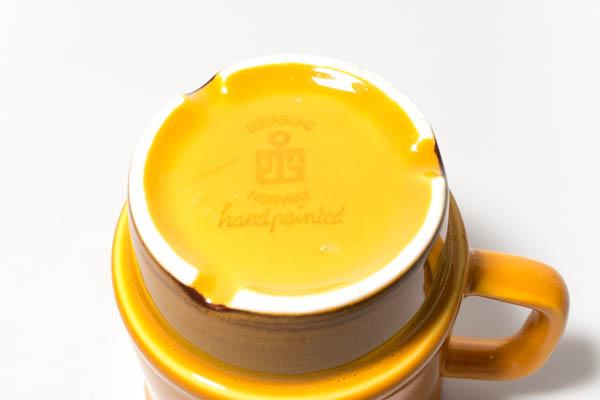 北欧雑貨 ノルウェー Egersund エーゲルスン Unique カップ&ソーサー