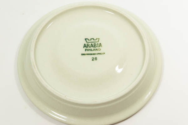 北欧食器 Finland ARABIA Salla Ulla Procope カップ&ソーサー