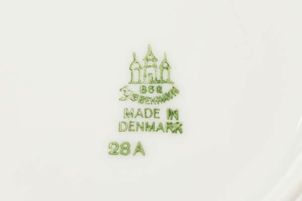 北欧家具 デンマーク B&G Gold rim プレート16cm
