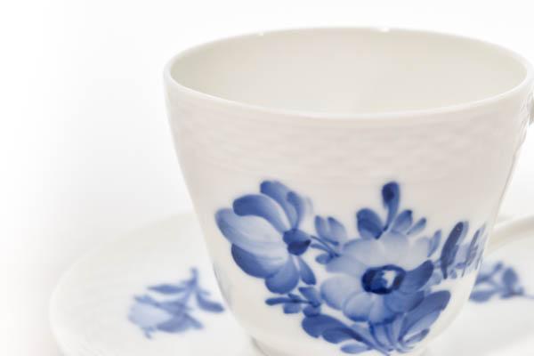 北欧食器 デンマーク ロイヤルコペンハーゲン Blue Flower カップ&ソーサー