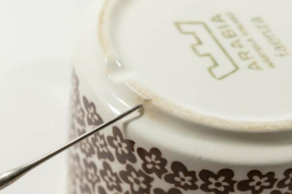 北欧雑貨 フィンランド ARABIA アラビア faenza vintage カップ&ソーサーとプレートのセット