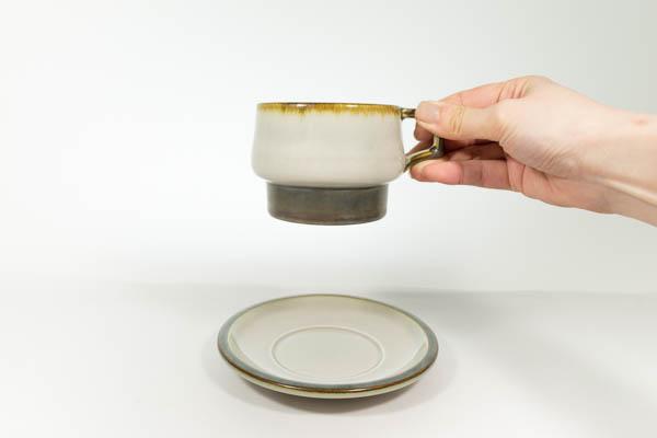 北欧家具 デンマーク B&G TEMA カップ&ソーサー
