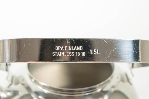 北欧雑貨 OPA  ケトル フィンランド