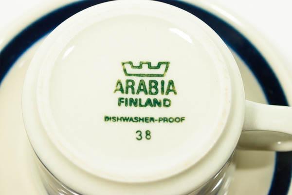 北欧雑貨 フィンランド ARABIA Anemone デミタスカップ&ソーサー