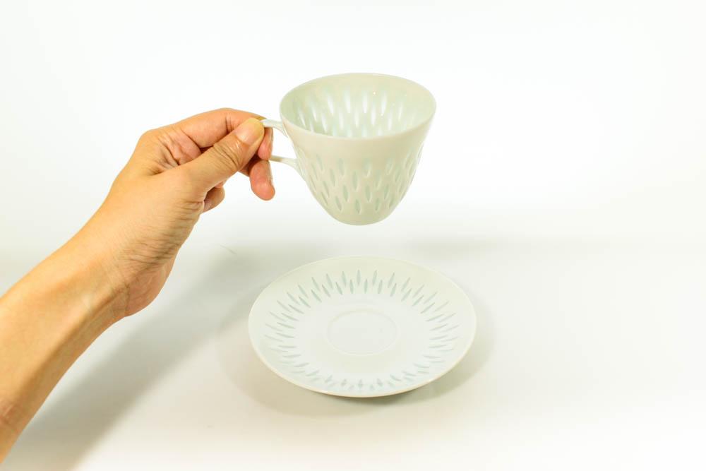 北欧雑貨 Finland ARABIA rice pocelain friedl kjellberg カップ&ソーサー