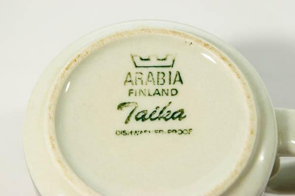 北欧雑貨 フィンランド ARABIA Taika Anja Jaatinen Winquist カップ&ソーサー
