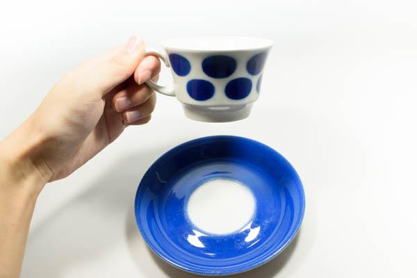 北欧雑貨 フィンランド ARABIA ステンシル カップ&ソーサー