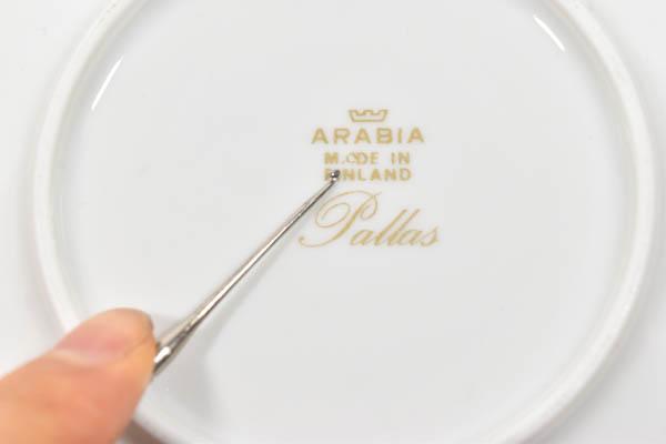 北欧雑貨 フィンランド ARABIA アラビア pallas Richard Lindh raija uosikkinen プレート
