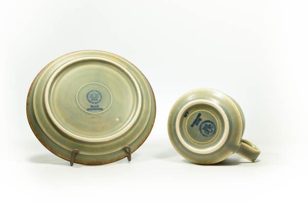 北欧家具 デンマーク B&G Runeカップ&ソーサ