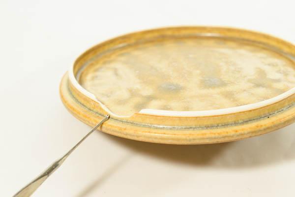 北欧食器 デンマーク イェンス・H・クイストゴー レリーフ シュガーポット