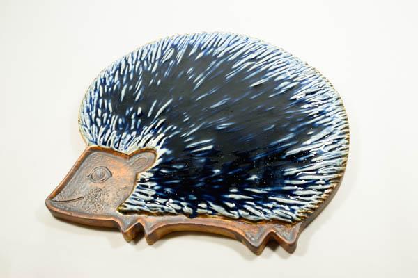 北欧雑貨 フィンランド ARABIA アラビア ビンテージ Gunvor Olin-Gronqvistハリネズミ陶板