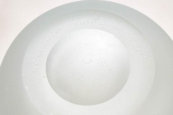 北欧食器 フィンランド ヌータヤルヴィ Sargasso  サルガッソ フラワーベース