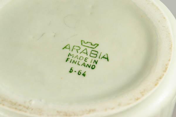 北欧雑貨 フィンランド ARABIA アラビア Olga Osol フラワーベース