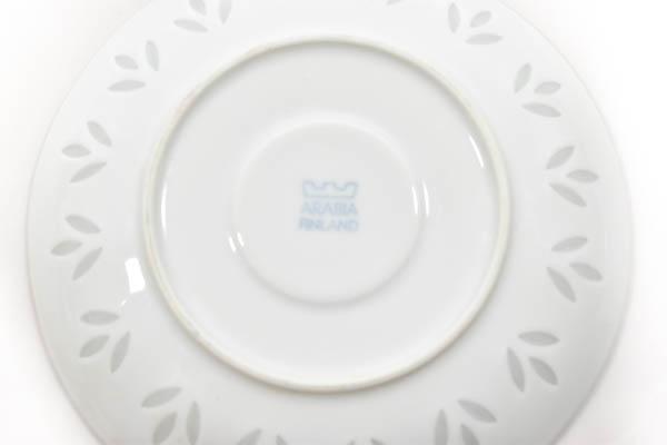 北欧雑貨 Finland ARABIA rice pocelain friedl kjellberg デミタス カップ&ソーサー