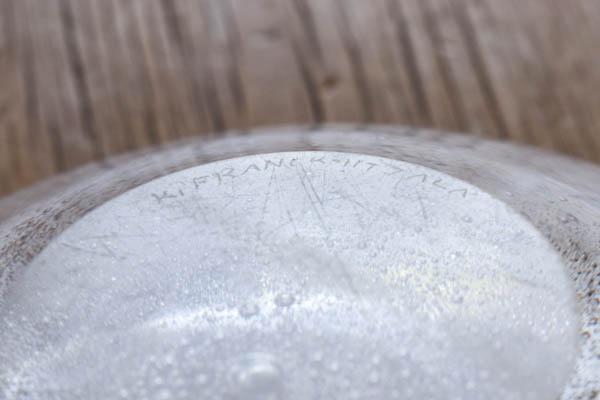 北欧雑貨 フィンランド iitlala イッタラ Kaj Franck カイ・フランク Rustica グラス